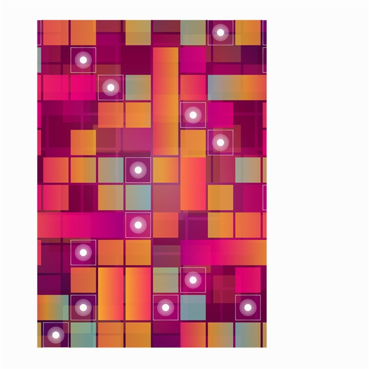 Abstract Background Colorful Large Garden Flag (Two Sides)