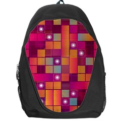 Abstract Background Colorful Backpack Bag