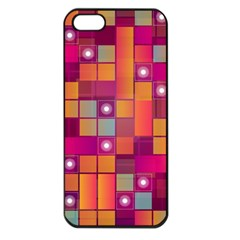 Abstract Background Colorful Apple iPhone 5 Seamless Case (Black)