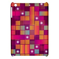 Abstract Background Colorful Apple iPad Mini Hardshell Case