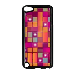 Abstract Background Colorful Apple iPod Touch 5 Case (Black)