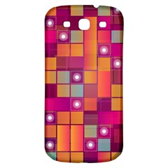 Abstract Background Colorful Samsung Galaxy S3 S III Classic Hardshell Back Case