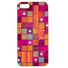 Abstract Background Colorful Apple Iphone 5 Hardshell Case With Stand