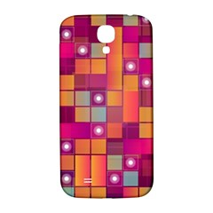 Abstract Background Colorful Samsung Galaxy S4 I9500/I9505  Hardshell Back Case