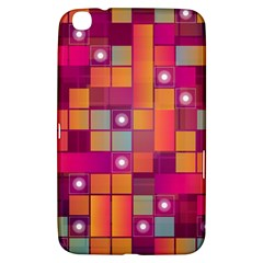 Abstract Background Colorful Samsung Galaxy Tab 3 (8 ) T3100 Hardshell Case