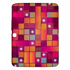 Abstract Background Colorful Samsung Galaxy Tab 3 (10.1 ) P5200 Hardshell Case