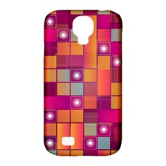 Abstract Background Colorful Samsung Galaxy S4 Classic Hardshell Case (PC+Silicone)