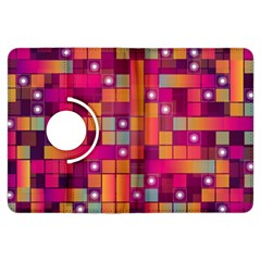 Abstract Background Colorful Kindle Fire HDX Flip 360 Case
