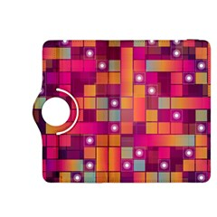 Abstract Background Colorful Kindle Fire Hdx 8 9  Flip 360 Case