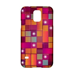 Abstract Background Colorful Samsung Galaxy S5 Hardshell Case