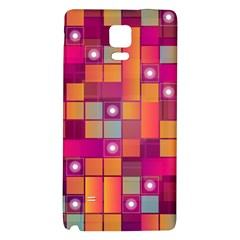 Abstract Background Colorful Galaxy Note 4 Back Case
