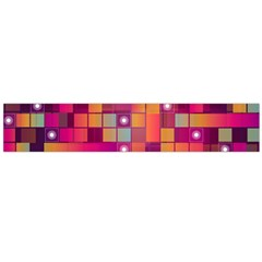 Abstract Background Colorful Flano Scarf (large)