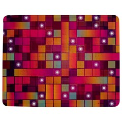 Abstract Background Colorful Jigsaw Puzzle Photo Stand (rectangular)