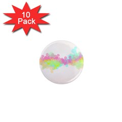 Abstract Color Pattern Colorful 1  Mini Magnet (10 pack)