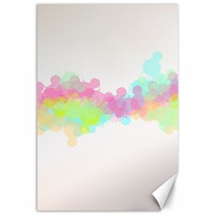 Abstract Color Pattern Colorful Canvas 12  X 18