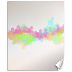 Abstract Color Pattern Colorful Canvas 16  x 20