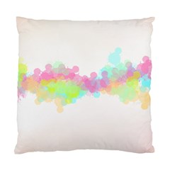 Abstract Color Pattern Colorful Standard Cushion Case (One Side)