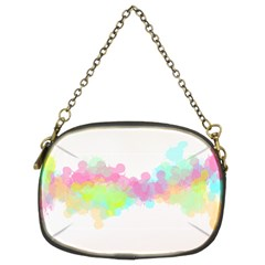 Abstract Color Pattern Colorful Chain Purses (Two Sides)