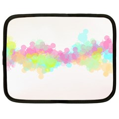 Abstract Color Pattern Colorful Netbook Case (xl)