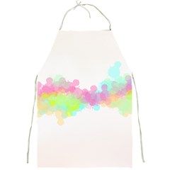 Abstract Color Pattern Colorful Full Print Aprons