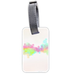 Abstract Color Pattern Colorful Luggage Tags (one Side)