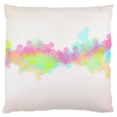 Abstract Color Pattern Colorful Large Cushion Case (two Sides)