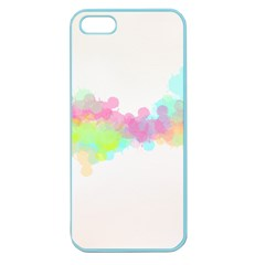 Abstract Color Pattern Colorful Apple Seamless iPhone 5 Case (Color)