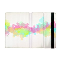 Abstract Color Pattern Colorful Apple Ipad Mini Flip Case