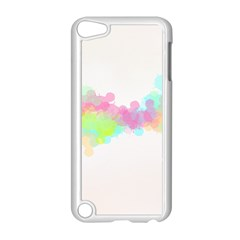 Abstract Color Pattern Colorful Apple iPod Touch 5 Case (White)
