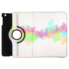 Abstract Color Pattern Colorful Apple iPad Mini Flip 360 Case