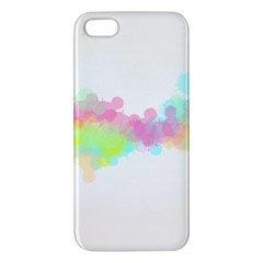 Abstract Color Pattern Colorful Apple iPhone 5 Premium Hardshell Case