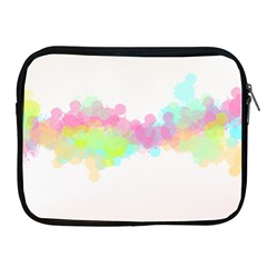 Abstract Color Pattern Colorful Apple iPad 2/3/4 Zipper Cases