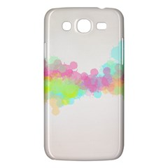 Abstract Color Pattern Colorful Samsung Galaxy Mega 5.8 I9152 Hardshell Case