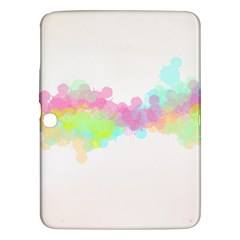 Abstract Color Pattern Colorful Samsung Galaxy Tab 3 (10.1 ) P5200 Hardshell Case