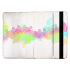 Abstract Color Pattern Colorful Samsung Galaxy Tab Pro 12.2  Flip Case