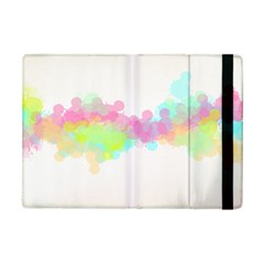Abstract Color Pattern Colorful Ipad Mini 2 Flip Cases
