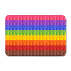 Abstract Pattern Background Small Doormat