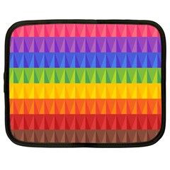 Abstract Pattern Background Netbook Case (xl)