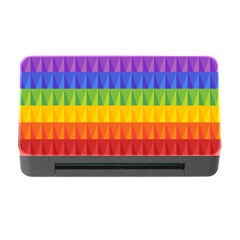 Abstract Pattern Background Memory Card Reader with CF