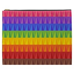Abstract Pattern Background Cosmetic Bag (XXXL)