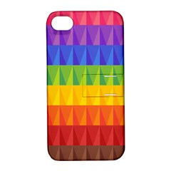 Abstract Pattern Background Apple iPhone 4/4S Hardshell Case with Stand
