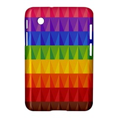 Abstract Pattern Background Samsung Galaxy Tab 2 (7 ) P3100 Hardshell Case