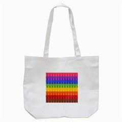 Abstract Pattern Background Tote Bag (white)
