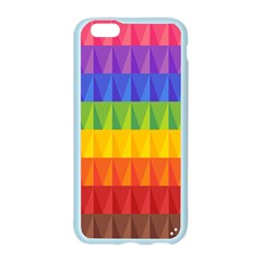 Abstract Pattern Background Apple Seamless iPhone 6/6S Case (Color)