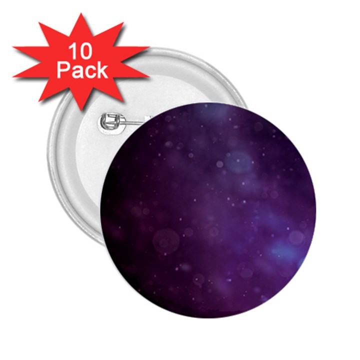 Abstract Purple Pattern Background 2.25  Buttons (10 pack)