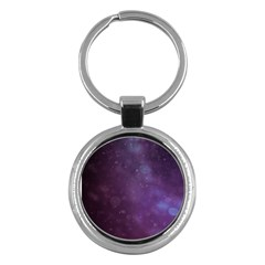 Abstract Purple Pattern Background Key Chains (Round)
