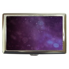 Abstract Purple Pattern Background Cigarette Money Cases