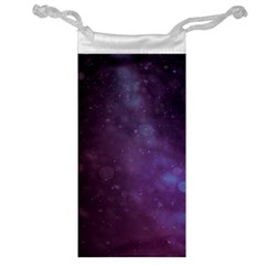 Abstract Purple Pattern Background Jewelry Bag