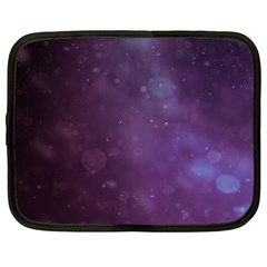 Abstract Purple Pattern Background Netbook Case (Large)