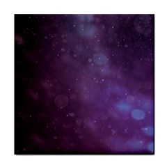 Abstract Purple Pattern Background Face Towel